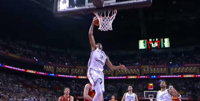 كأس العالم لكرة السلة 2019: تقدم أنتيتوكونمو إلى أعلى 5 فى فيبا.
